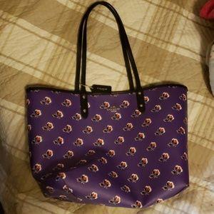 Coach reversable bag